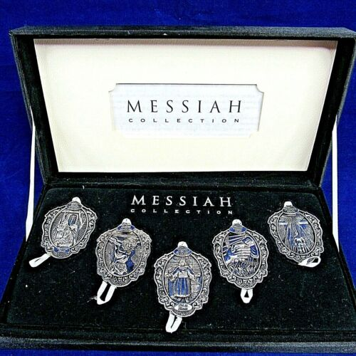 Messiah Collection Christmas Ornaments Religious Bible Verses Jesus 2004