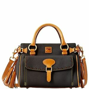 Dooney & Bourke Dillen2 Trim Medium Pocket Satchel, Black