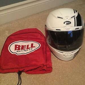 Men's Bell motorcycle helmet