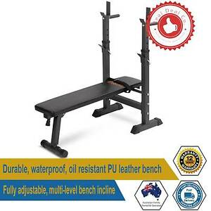 Adjustable Weight Bench Home Gym Press Fitness Ab Exercise Flat I Paddington Eastern Suburbs Preview