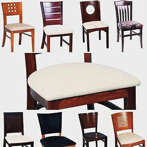 Custom made commercial grade restaurant chairs, stools