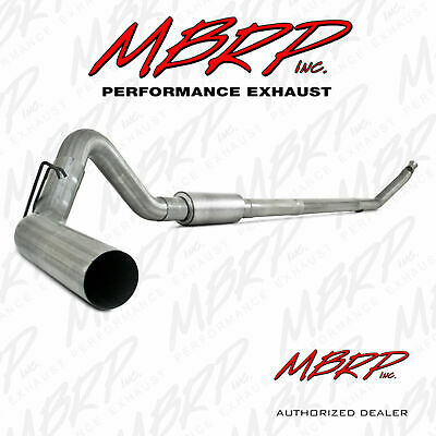 MBRP 4 Inch Turbo Back Exhaust System Fits 1994-2002 Dodge 5.9L Cummins Diesel