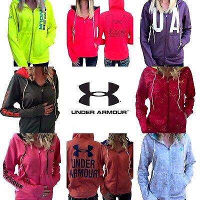 Womens Under Armour Jacket UA ColdGear Logo Full Zip Hoodie S M L XL NWT/DEFECT ()