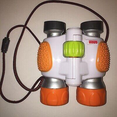 Fisher Price 2009 Kid Tough Toy Binoculars White/Orange