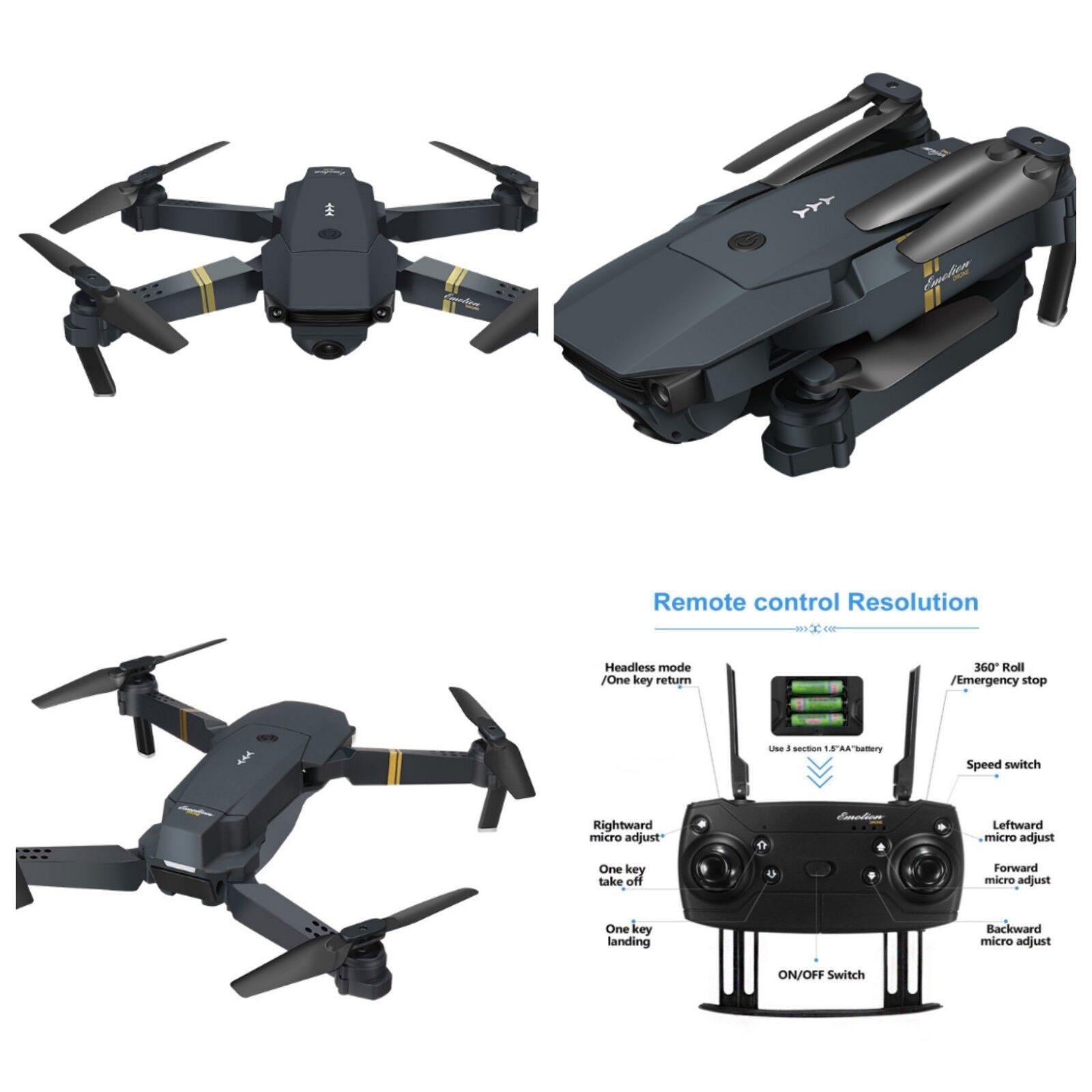 Drone X Pro Camera Live Video EACHINE E58 WiFi FPV Quadcopte