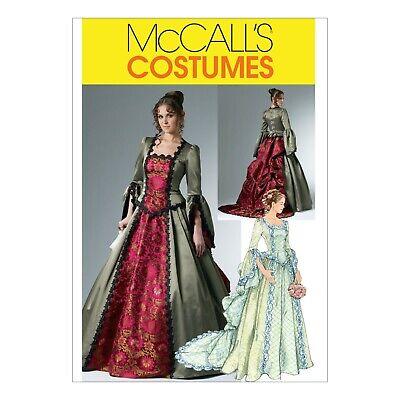 McCalls Schnittmuster M6097 - Kostüm - Historisch - Viktorianisch