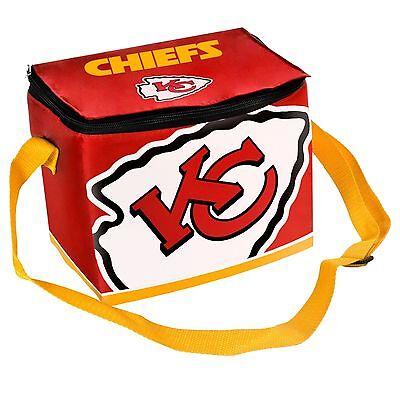 Kansas Cooler (Kansas City Chiefs Insulated soft side Lunch Bag Cooler New - BIg)