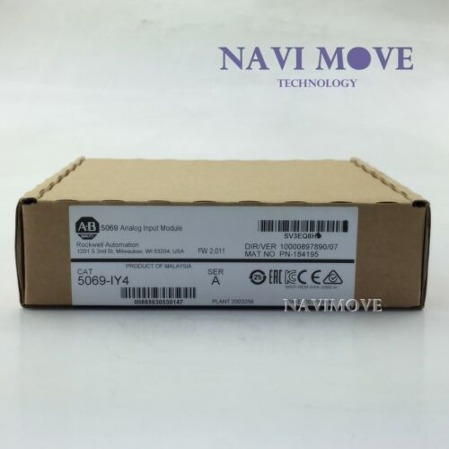 2019/20 New Sealed Allen Bradley 5069-IY4 5069 Compact I/O Current/Volt/RTD/TC