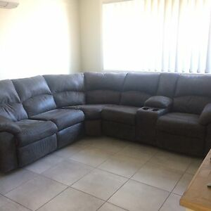 6seater modular lounge with 2 recliners and 1 single recliner Bomaderry Nowra-Bomaderry Preview
