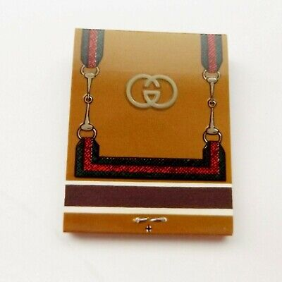 Vintage GUCCI MATCHES Matchbook, Bar accessory, Gift, match book, Free shipping