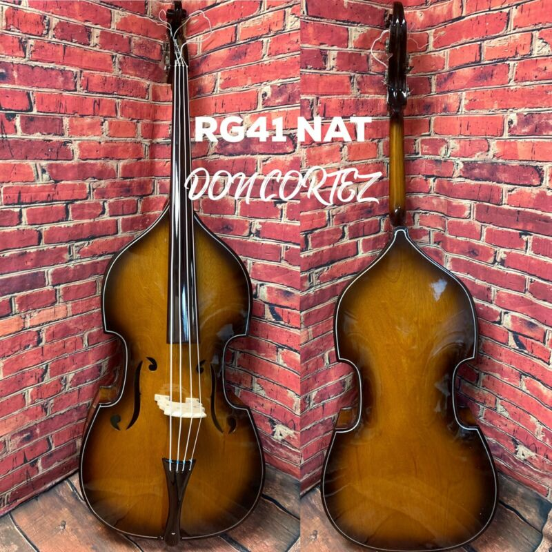 DON CORTEZ TOLOLOCHE CONTRABAJO DOUBLE BASS- E41 NAT HAND MADE