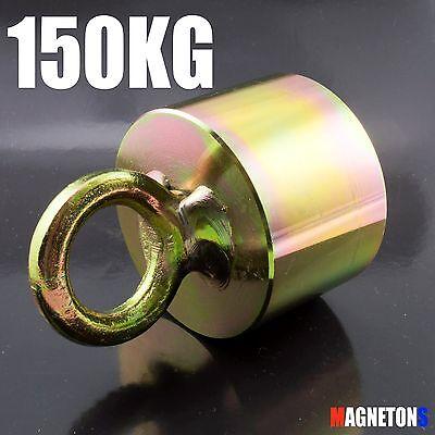 ---Metal Detector Neodymium River Fishing RECOVERY Magnet 45mm x 25mm 150KG----
