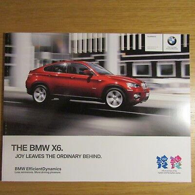 BMW X6 xDrive35i  xDrive50i  xDrive30d  xDrive40d xDrive 30d 40d Brochure 2011