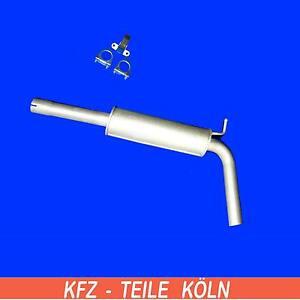 VW-Polo-1-9-SDI-1-9-TDI-SILENCIADOR-central-escape-Silenciador-Central