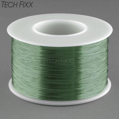Magnet Wire 28 Gauge Enameled Copper 1000 Feet Coil Winding Solderable Green