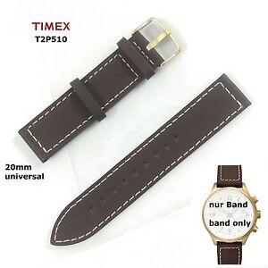 Timex-Pulsera-Reemplazo-t2p510-AVIATOR-FLY-Back-Cronografo-Universal-20mm-BAND
