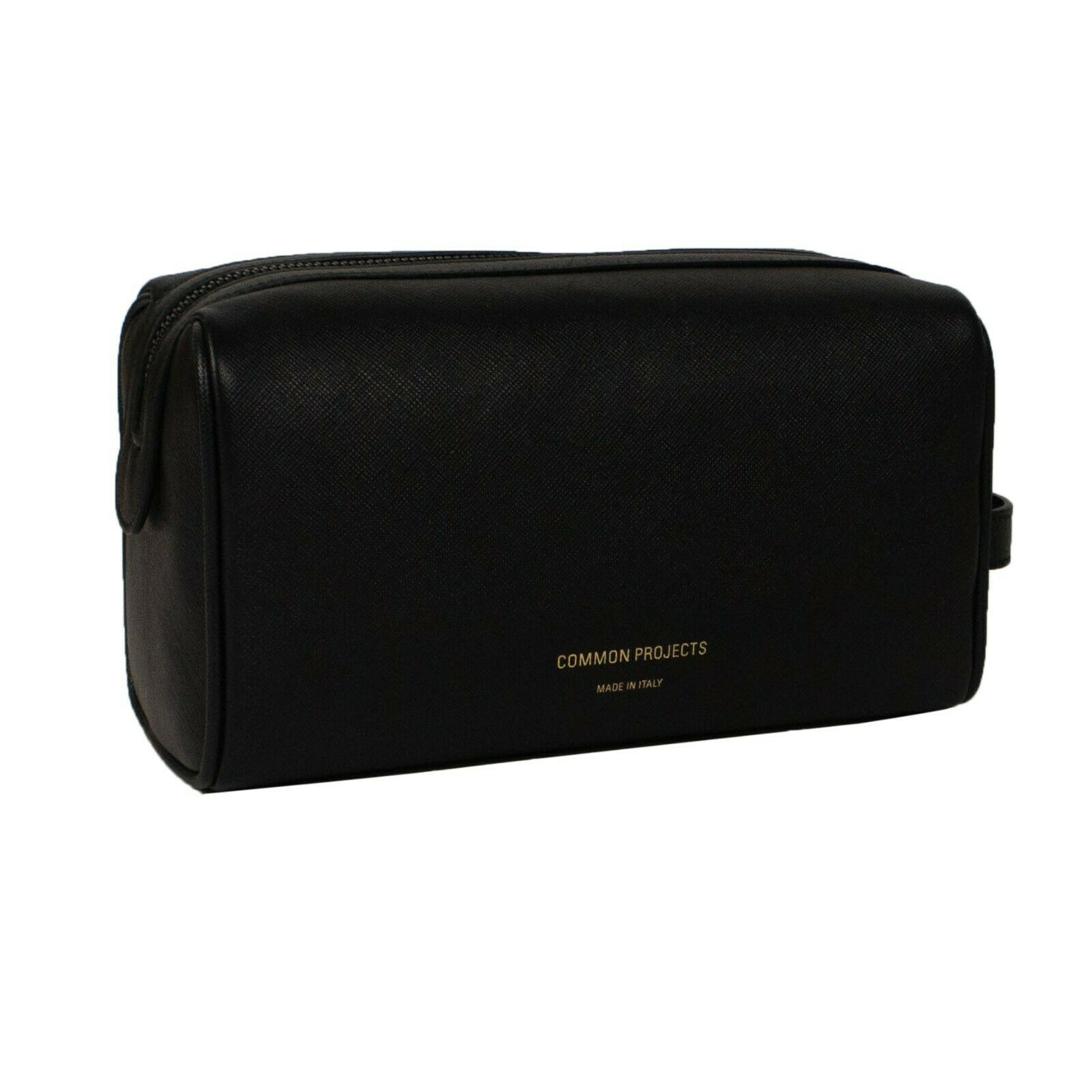 nwt-common-projects-black-leather-logo-toiletry-beauty-bag-362