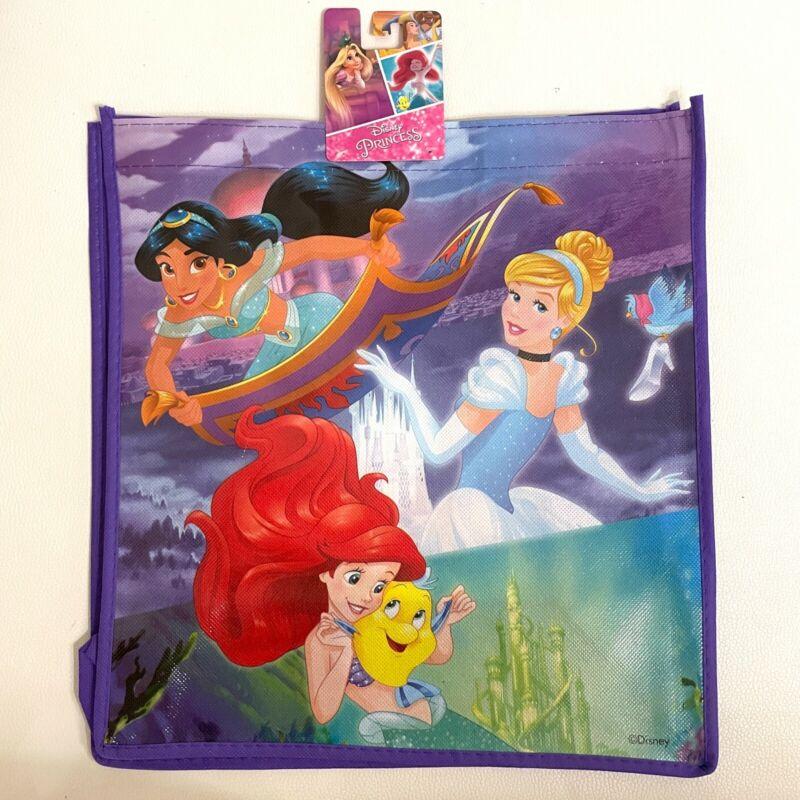 Disney Princess Reusable Tote Bag New Halloween Bag Ariel Cinderella Jasmine