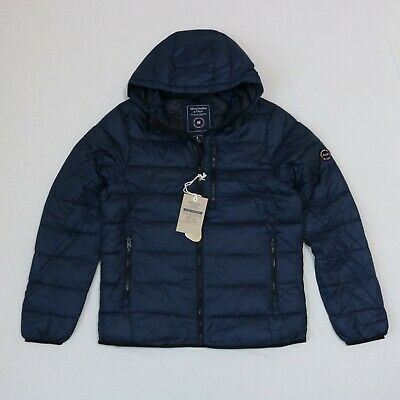 Abercrombie & Fitch Men Winter Hood Puffer jacket size S, M, L, XL new with tag