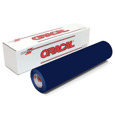 ORACAL 651 Outdoor Permanent Vinyl - DEEP SEA BLUE 12in x 10ft Roll
