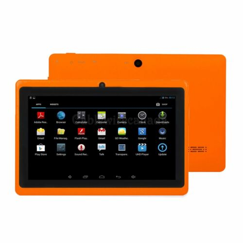 "2018 New version 7"" Google Android Tablet 16GB Bundle Case for Kids Gift Game US"