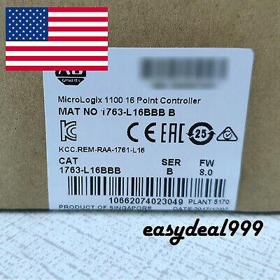 Portable New Allen-bradley 1763-l16bbb Micrologix1100 16point Controller Fda