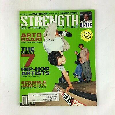 2002 Strength Skateboard Magazine Arto Saari The Next 7 Hip-Hop Artists Dibbs ?