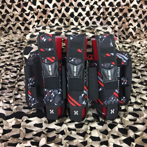 New HK Army Eject 3+2 Paintball Pod Pack Harness - Fire