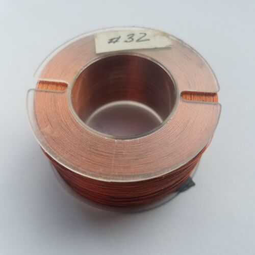 Enameled Copper Magnet Wire 32 AWG - 4.25oz Spool