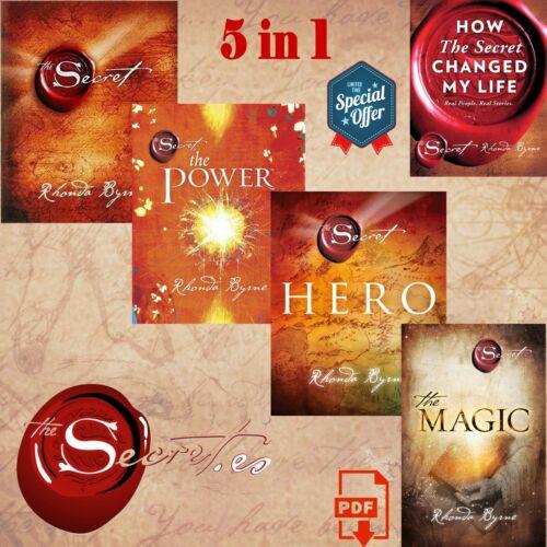 [PDF] The Secret Series Rhonda Byrne 5 Books Set, (Secret, Power, Hero, Magic)