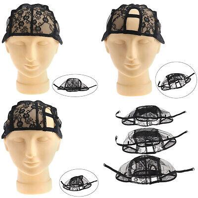 Perücken Kappe Netz für Perücken Wig Cap DIY Wig Haarnetz Perückennetz schwarz