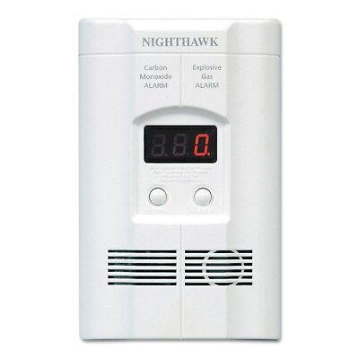 Kidde Nighthawk Plug-In Explosive Gas & Carbon Monoxide Alarm + Battery Backup