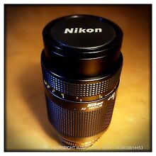 Nikon 70-210 AF Zoom Lens F4-5.6 Macro Mint + FREE ADAPTER Adelaide CBD Adelaide City Preview