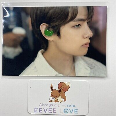 Official BTS Memories Of 2019 Blu-Ray Printed Photo - Taehyung