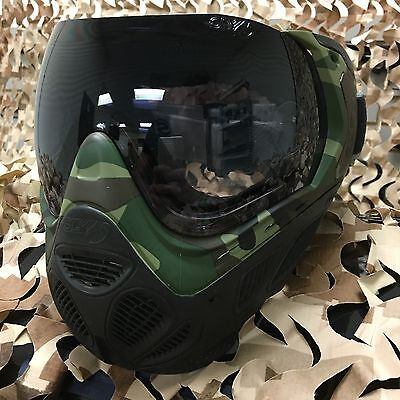 New Sly Profit Thermal Anti Fog Paintball Mask Goggle Series   Woodland Camo