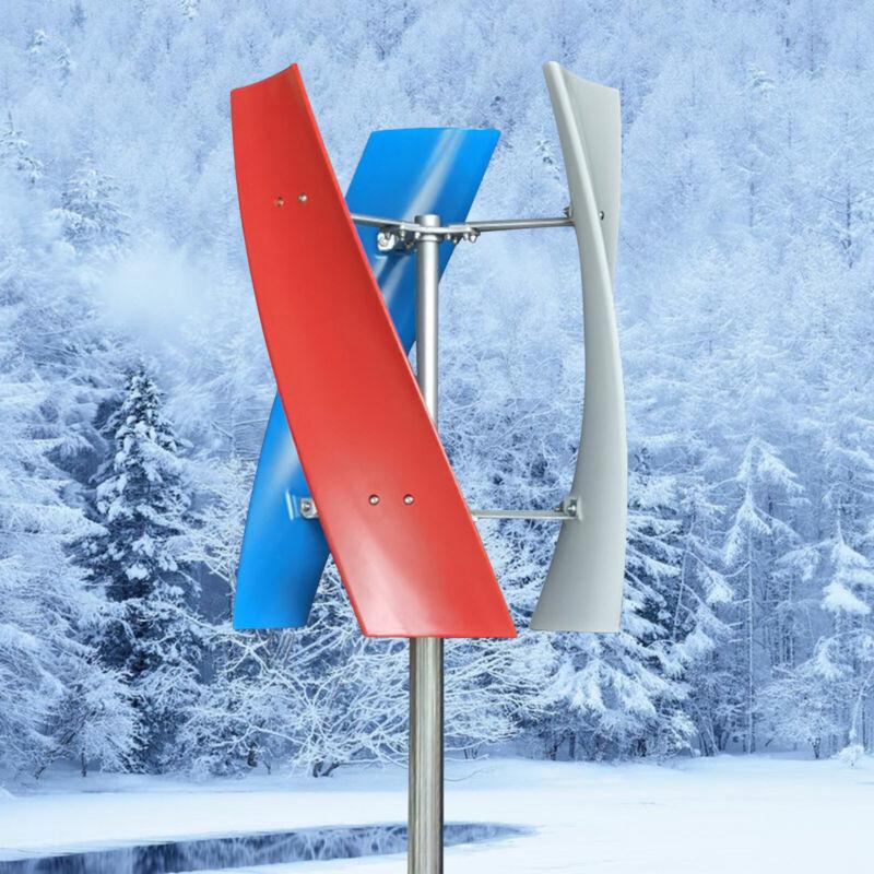 400W Wind Turbine Generator 3 Blades Helix Wind Generator 12v/24v +Controller