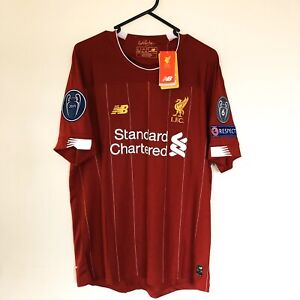 Liverpool FC Home Jersey 19/20 Champions League Final Embroidery Mount Eliza Mornington Peninsula Preview