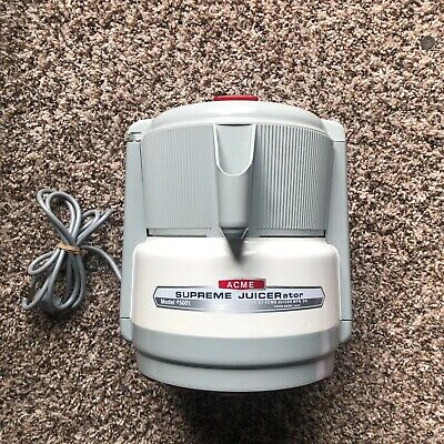 Acme Supreme JUICERator Centrifugal Food Juicer model 5001 Works Well~USA Made!
