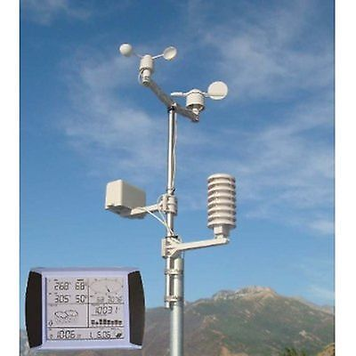 Prowler Professional Weather Station Wireless Home wind thermometer barometer