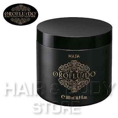 Máscara Orofluido 500ml de Aceite Argán Semillas Lino y Chufa Oro Líquido