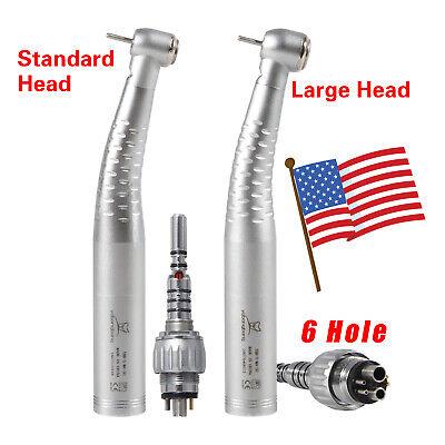 Dental Fiber Optic High Speed Handpiece Led Multiflex Coupler 6h Fit Kavo Yb6 Us
