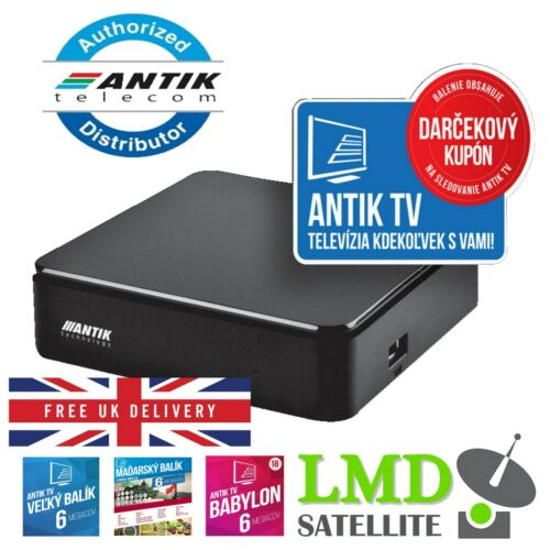 Antik+Nano+3+IP+4K+HDR+set-top+box+%28SLOVAK+VERSION+%7C+Streaming+Media+Player+