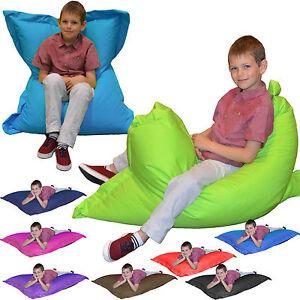 gilda enfants 4 en 1 poufs coussins ext rieur big bag ebay. Black Bedroom Furniture Sets. Home Design Ideas
