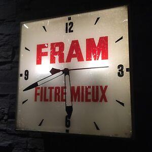 Horloge Fram d'origine !! Vintage
