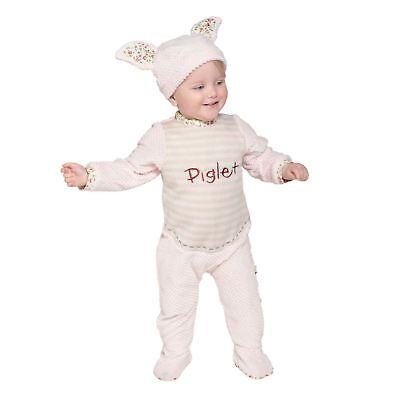 Offiziell Disney Baby Ferkel Vintage Einteiler weich Hut Weihnachten Kostüm ()