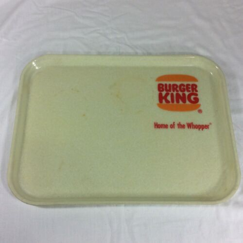 Vintage Burger King Restaurant Tray Old Camtray Home Of The Whopper Food Serving