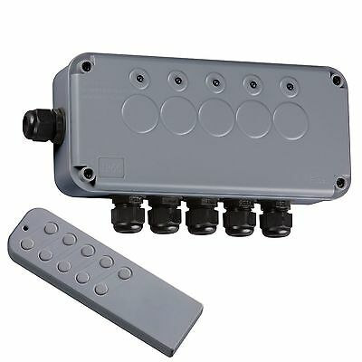 Knightsbridge IP665G Outdoor Remote Controlled Wireless Lighting Switch Box Kit