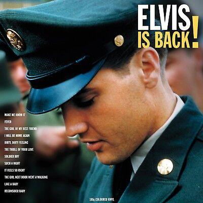 Elvis Presley - Elvis Is Back (180g Coloured Vinyl LP) NEW/SEALED