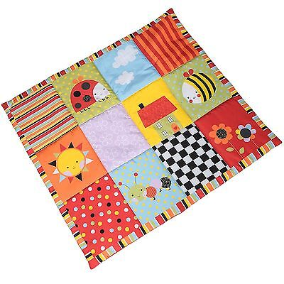 NEW RED KITE LARGE PADDED SENSORY INDOOR PLAY MAT OUTDOOR BABY MAT GARDEN GANG