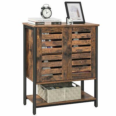 Vintage Floor Standing Cabinet Storage Cabinet Kitchen Cupboard + Shelf LSC77BX